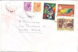 TIMBRO OSNAGO - PROV COMO - 12X16 - LS - ANNO 1978 - TEMA TOPIC COMUNI D´ITALIA - STORIA POSTALE - Affrancature Meccaniche Rosse (EMA)