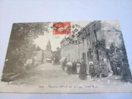 CPA MARVAL LA GRAND RUE 1914 - France