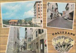 SAVONA - Calizzano - 3 Vedute - 1970 - Circolo Tennis Pro Loco - Savona