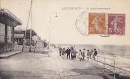 Luc Sur Mer 14 - Patissier-Glacier Digue Promenade - 1929 - Editeur Gazeau - Luc Sur Mer