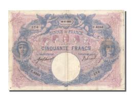 50 Francs Bleu Et Rose Type 1889 - 50 F 1889-1927 ''Bleu Et Rose''