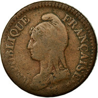 Monnaie, France, Dupré, Decime, 1801, Geneva, B, Bronze, Gadoury:187b - D. 10 Centimes