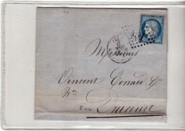 BERNAY DE L EURE - 1871 - GC 451 - FILATURE ET TISSAGE CICILLE - LAC N° 60 - Marcophilie (Lettres)