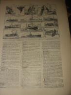 Planche Bâtiments De Flottille 1920/1924 - Boats