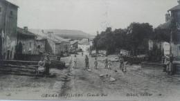 Germainvilliers  (avec Cachet Militaire) - Unclassified