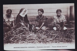 FUTUNA FABRICATION DE NATTES - Ansichtskarten