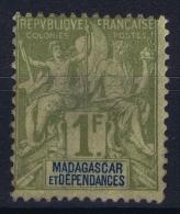 Madagascar  Yv Nr 41 MH/* Falz/ Charniere - Unused Stamps