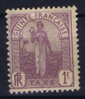 Guinee  Yv Nr Taxe 7 MH/* Falz/ Charniere - Guinea Francese (1892-1944)