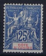 Cote D'Ivoire   Yv Nr 16 MH/* Falz/ Charniere - Ivoorkust (1892-1944)