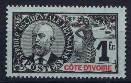 Cote D'Ivoire   Yv Nr 33 MH/* Falz/ Charniere - Ivoorkust (1892-1944)