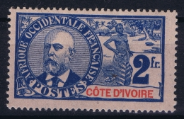 Cote D'Ivoire   Yv Nr 34 MH/* Falz/ Charniere - Ivoorkust (1892-1944)