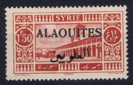 Alaouites:   Yv Nr 28 A Surcharge Noir / Black  MH/* Falz/ Charniere - Neufs