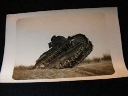 Cpa Carte Photo -- Un Char -- Année 30 --  FEV16 10bis - Matériel
