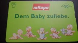 Austria-(f40)-milupa-(607l)-(50units)-tirage-3.150+1card Prepiad Free - Austria