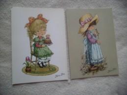 LOT DE 5 CARTES HUMORISTIQUES...OBJETS BAVARDS - Cartoline