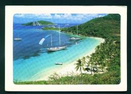 BRITISH VIRGIN ISLANDS  -  Peter Island  Dead Mans Bay  Used Postcard As Scans - Vierges (Iles), Britann.