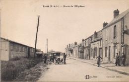 1- 20 VOVES (28 Eure Et Loire) Route De L'Hôpiteau - Automobile; Animée - France
