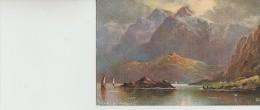 "L  Long                                Norway  ,  The  Raftsund       ""oilette"" - Illustrators & Photographers"
