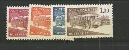 1963  MNH Finland, Mi 10-13x, Postfris