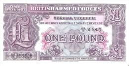 British Armed Forces - Pick M22 - 1 Pound 1948 - Unc - Emissioni Militari