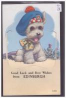 EDINBURGH - SYSTEME LEPORELLO - 12 PHOTOS SOUS LE CHIEN - DOG - TB - TB - Midlothian/ Edinburgh