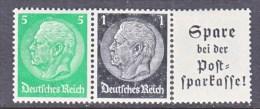 GERMANY   W 96   * - Se-Tenant