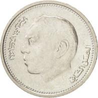 Maroc, Hassan II, 1/2 Dirham 1987, KM Y87 - Maroc