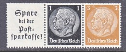 GERMANY   W 100   ** - Se-Tenant