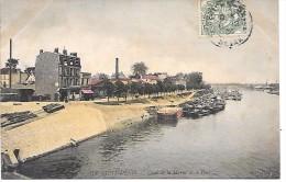 ILE SAINT DENIS - Quai De La Marne Et Le Port - Saint Denis