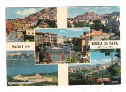 ROCCA DI PAPA (RM) - 1970 - Saluti Da...con 5 Vedute Panoramiche, Alcune ANIMATE/AUTO- Viaggiata - In Buone Condizioni . - Altre Città