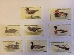 Guinée équatoriale Timbres De Canards Ducks Equatorial Guinea - Ferme