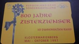 Austria-(f177)-zisterzienser 800 Jahre-(705l)-(20units)-tirage-1.260+1card Prepiad Free - Austria
