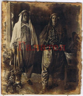 BULGARIA 1920s TWO YOUNG TURKISH WOMEN IN NATIONAL ATTIRE SMALL REAL PHOTO Ab024 - Europe