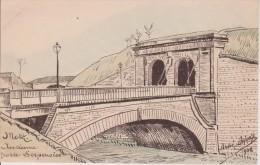 57-METZ-ANDRE DUPUIS-ANCIENNE PORTE SERPENOISE-Etat Neuf.Belle Carte - Metz