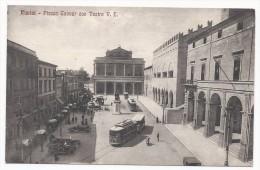 Rimini - Piazza Cavour Con Teatro Vittorio Emanuele - Tram - HP1039 - Rimini