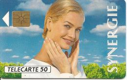 CARTE°-PUCE-PRIVEE-PUBLIC- 50U-EN328-GEMA-03/92-SYNERGIE-R°Glacé-UTILISE-TBE - 50 Einheiten