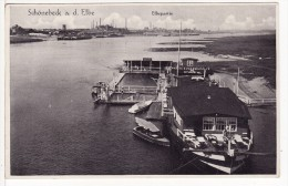 SCHOENEBECK-SCHÖNEBECK/ELBE (Allemagne)  Elbepartie-Bateau-Boat-Schiffe- 2 SCANS - - Schoenebeck (Elbe)