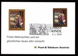 Austria, CHRISTKINDL, 6.1.1999 / Cancel No 2 - Christianity