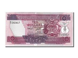 Iles Salomon, 10 Dollars Type 1986 - Salomons