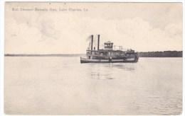 Lake Charles Louisiana, Mail Steamer 'Borealis Rex', Paddle-wheel Boat C1900s Vintage Postcard - Estados Unidos
