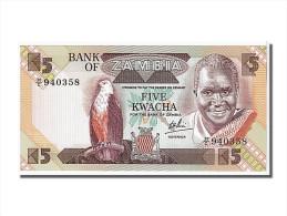 Zambie, 5 Kwacha Type Kaunda - Zambia