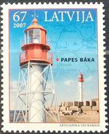 Latvia, 2007, Mi. 699, Sc. 676, SG 696, Lighthouse, MNH - Fari