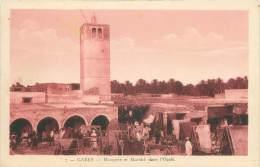 GABES - Mosquée Et Marché Dans L'Oasis - Tunisie