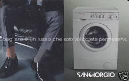 *ITALIA: WESTEL INTELCOM - SANGIORGIO / CALZE* - Scheda NUOVA (MINT) - Italia