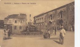 Milazzo-messina-piazza Del Carmine-viagg.1912-cart. Di 109 Anni - Messina