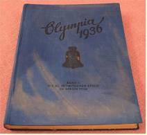 Sammelbilder Album Leer - Olympiade 1936 Berlin -  Band 2  -  Von Reemtsma - Sammelbilderalben & Katalogue