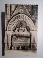 POSTCARD & STAMP SPAIN ESPAÑA ESPANA GALICIA ORENSE CATHEDRALE CATHEDRAL SEPULCHRE OF DON VASCO PEREZ MARIÑO 1950 YEARS - Orense