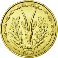 Monnaie, French West Africa, 25 Francs, 1957, FDC, Aluminum-Bronze, KM:E7 - Togo