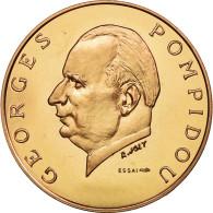 Monnaie, Gabon, 5000 Francs, 1971, Paris, FDC, Copper-Aluminum-Nickel, KM:E5 - Gabon