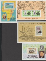 CENTRAFRICAINE+ST.TOME PRINCIPE+FALKLAND+HEBRIDES  ROWLAND HILL  **MNH VF   r�f  C633